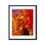 Scottish Fall Framed Panel Print
