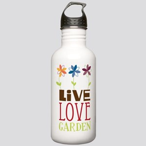 Live Love Garden Stainless Water Bottle 1.0L