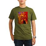 Scottish Fall Organic Men's T-Shirt (dark)