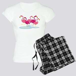 Flamingos Women's Light Pajamas