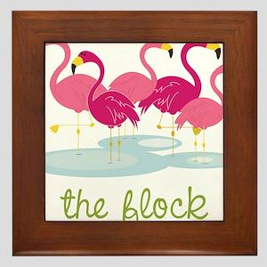 The Flock Framed Tile