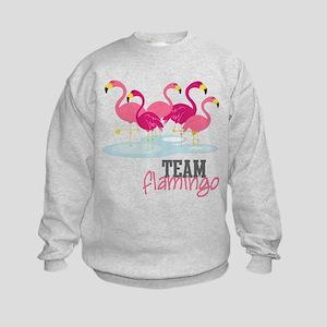 Team Flamingo Kids Sweatshirt