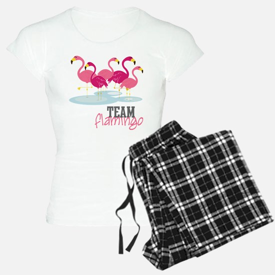 Team Flamingo Pajamas