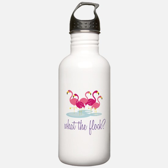 What The Flock? Water Bottle