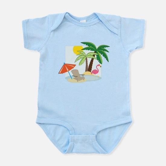 Summer Beach Infant Bodysuit
