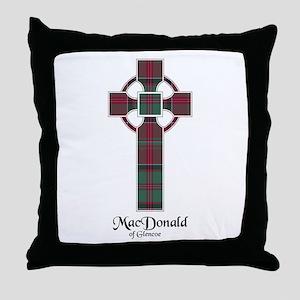 Cross - MacDonald of Glencoe Throw Pillow