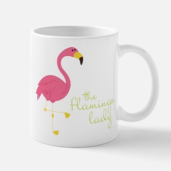 The Flamingo Lady Mug