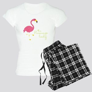The Flamingo Lady Women's Light Pajamas