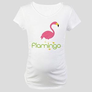 Flamingo Maternity T-Shirt