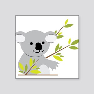 "Koala Bear Square Sticker 3"" x 3"""