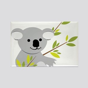 Koala Bear Rectangle Magnet