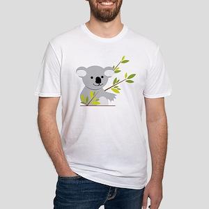 Koala Bear Fitted T-Shirt
