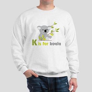 K Is For Koala Sweatshirt