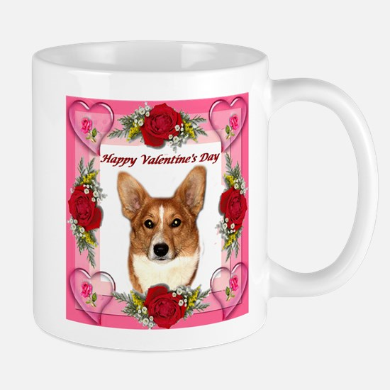 Valentine Pippin Hearts and Roses Mug