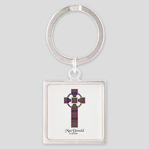 Cross - MacDonald of Boisdale Square Keychain