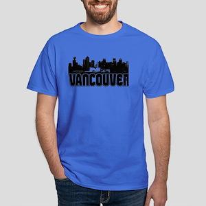 Vancouver Skyline Dark T-Shirt