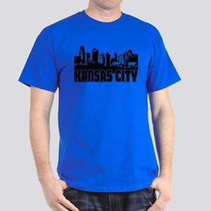 Kansas City Skyline Dark T-Shirt
