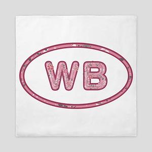 WB Pink Queen Duvet