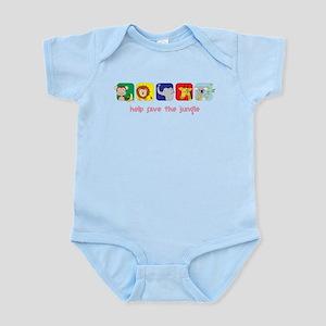 Save The Jungle Infant Bodysuit