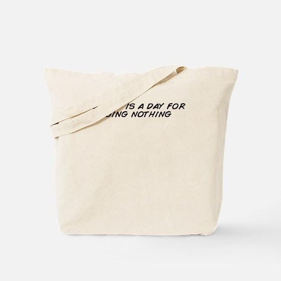 Sunday Tote Bag