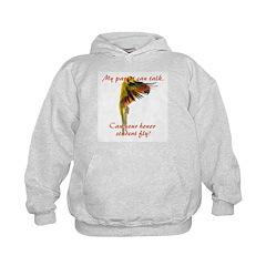 Sun Conure my parrot can fly Steve Duncan Hoodie