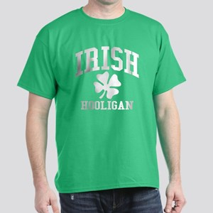 IRISH Hooligan Shamrock Dark T-Shirt