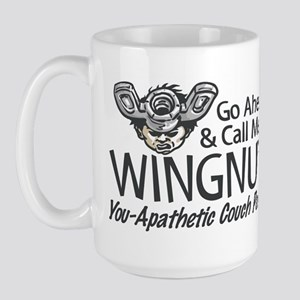 Call me a Wingnut Large Mug
