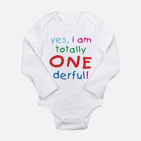 Onederful 1st Birthday First Infant Creeper Body S