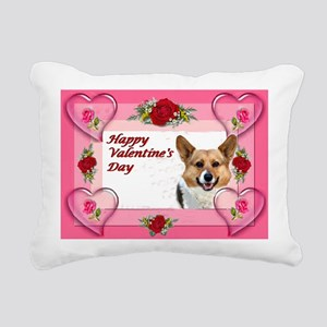 Valentine OC Hearts and Roses Card Rectangular Can