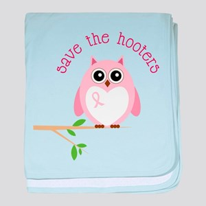 Save The Hooters baby blanket