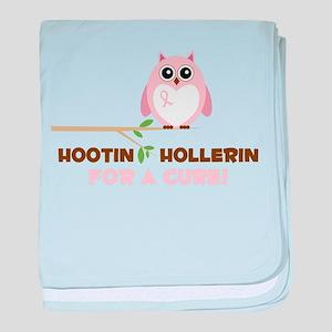 Hootin Hollerin baby blanket