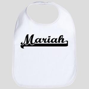 Black jersey: Mariah Bib