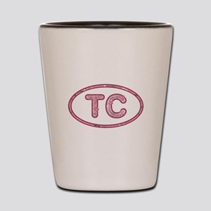 TC Pink Shot Glass