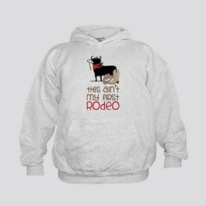 My First Rodeo Kids Hoodie