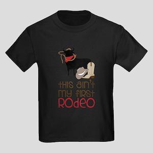 My First Rodeo Kids Dark T-Shirt
