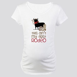 My First Rodeo Maternity T-Shirt