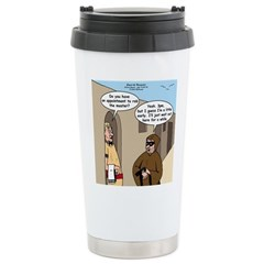A Time to Steal Stainless Steel Travel Mug