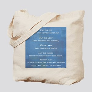 Apache Blessing Tote Bag
