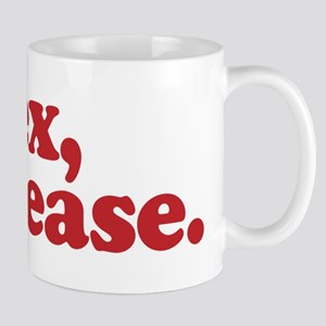 Sex, please Mug
