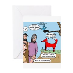 No Rest Greeting Card