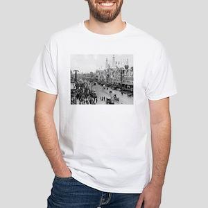 Coney Island Strets 1826595 White T-Shirt
