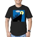 Mission from God Men's Fitted T-Shirt (dark)