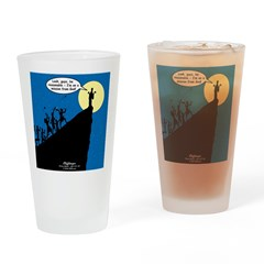 Mission from God Drinking Glass