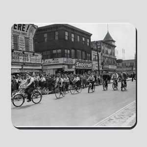 Coney Island Bicyclist 1826632 Mousepad