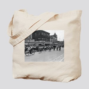 Coney Island Bicyclist 1826632 Tote Bag