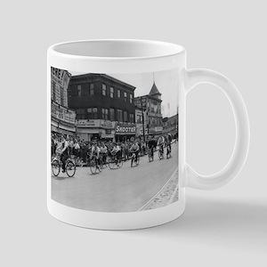 Coney Island Bicyclist 1826632 Mug