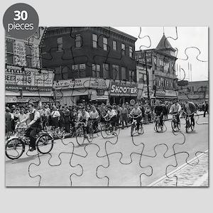 Coney Island Bicyclist 1826632 Puzzle