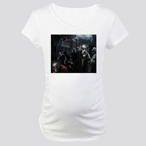 Zombie Party Maternity T-Shirt