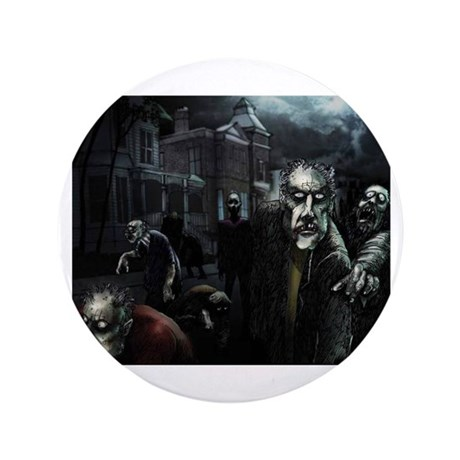 "Zombie Party 3.5"" Button (100 pack)"