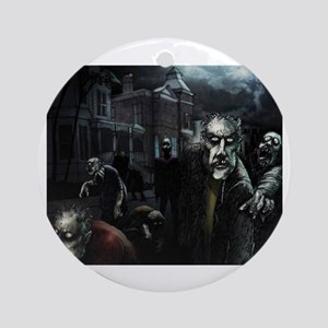 Zombie Party Ornament (Round)
